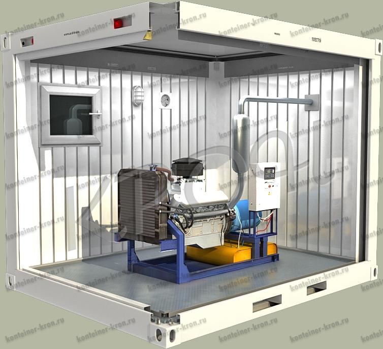 Требования к контейнеру для установки генератора