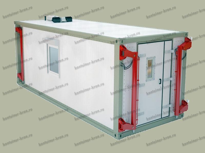 Аккумуляторная мастерская на базе кузов-контейнера