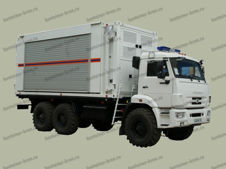 Кузов-контейнер военного назначения