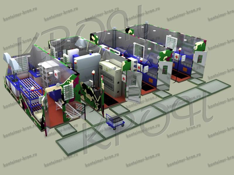 Мобильная аккумуляторная мастерская АМ-5К-120