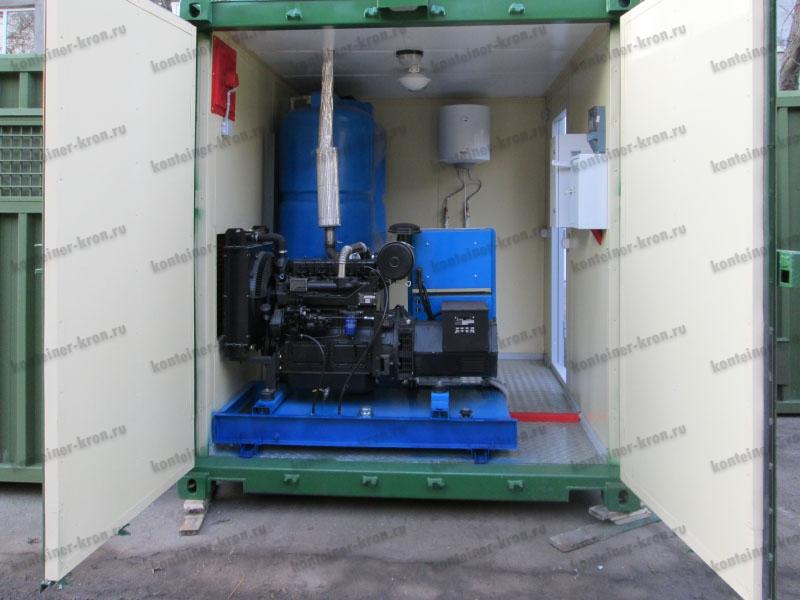 Дизельная электростанция на базе блок-контейнера