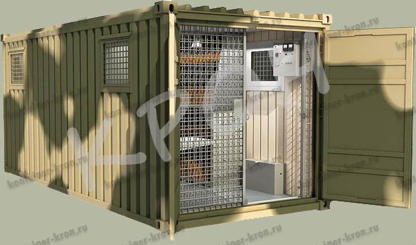 Крупная поставка кузов-контейнеров для хранения стрелкового оружия