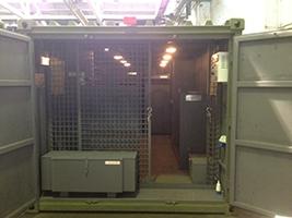 Изготовление комнат для хранения оружия в контейнерном исполнении