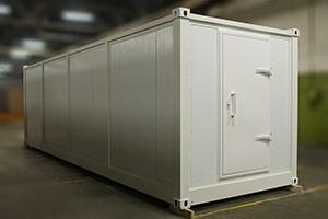 Габаритные размеры блок-контейнеров