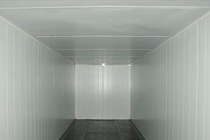 Блок-контейнер вид изнутри