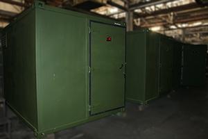 Заказ на изготовление контейнеров для хранения оружия