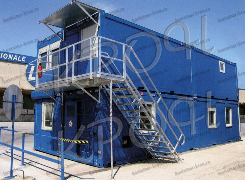Металлический контейнер фото 2