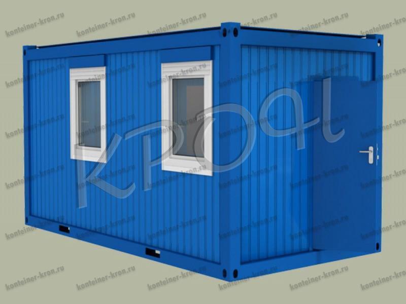 Металлический контейнер фото 1