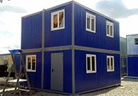 Административное здание на базе контейнеров