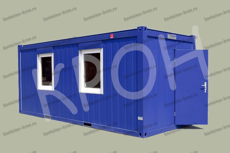 Мобильное сооружение контейнерного типа
