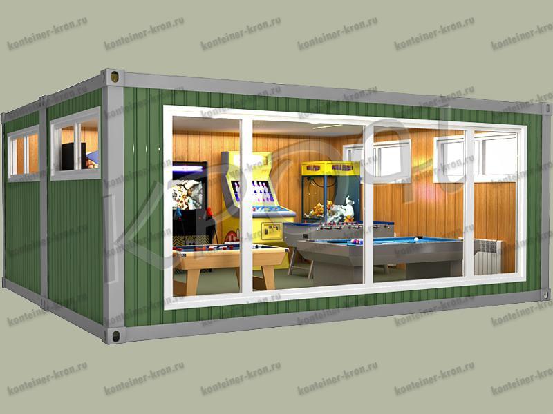 Мобильный дом из контейнеров