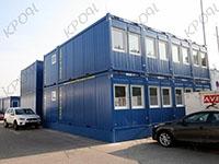 Отгрузка модульных офисно-бытовых контейнеров