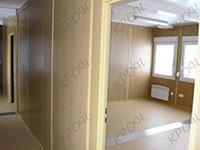 Офисно-бытовой контейнер внутри