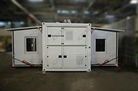 Разработка банно-прачечного пункта в контейнерном исполнении