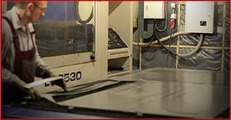 Лазерный станок для резки элементов контейнера