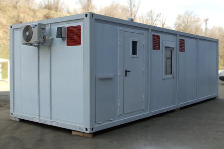 Аккумуляторная мастерская в блок-контейнере