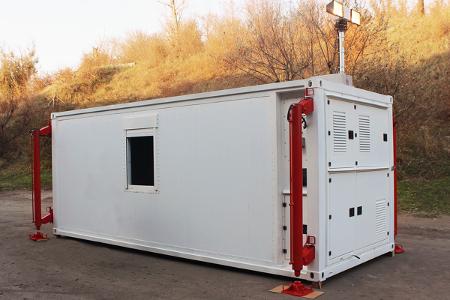 Многоцелевой кузов-контейнер постоянного объема