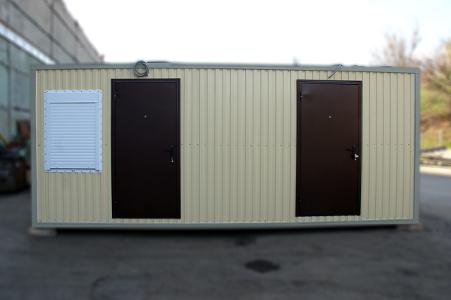 Складское помещение в блок-контейнере