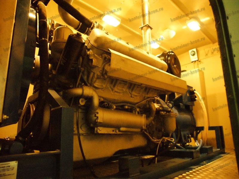 Электроагрегат на 200 кВт в сборе