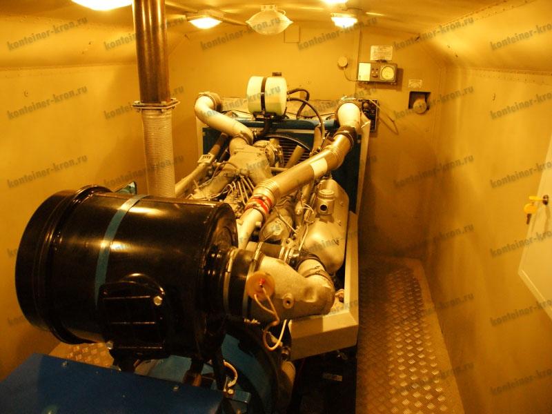 Генераторная установка в ЭД200