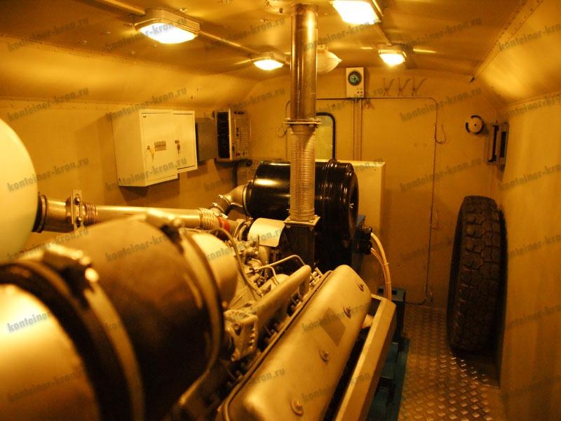 Дизельный двигатель установки