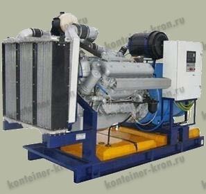 Стационарный электроагрегат мощностью 200 кВт