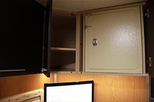 Фотография встроенного сейфа ПОЖ