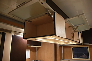 Фото подвесного кухонного шкафа