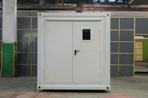 Фотографии 10 футового блок-контейнера