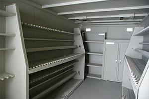 Большая левая пирамида для хранения автоматов