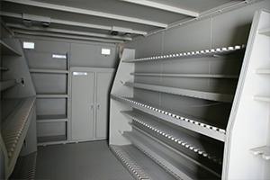 Большая правая пирамида для хранения автоматов