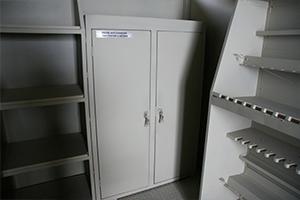 Шкаф для хранения пистолетов и оптики