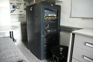 Сервер установленный внутри комплекса МКИОН