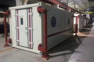 Кузов-контейнер постоянного объема для МЧС Казахстана