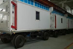 Кузов-контейнеры на двухосном прицепе