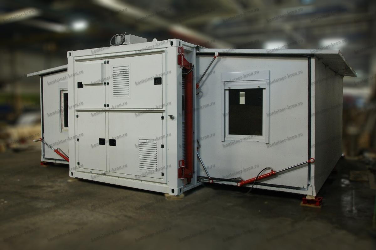 Раскладной кузов-контейнер переменного объема картинка