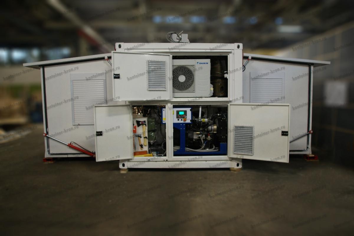 Раскладной кузов-контейнер переменного объема фото