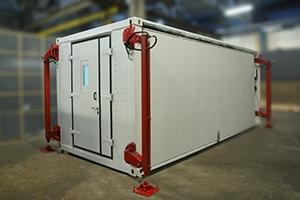 Раскладной кузов-контейнер переменного объема