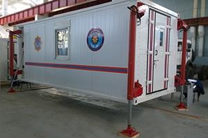 Внешний вид санитарного контейнера