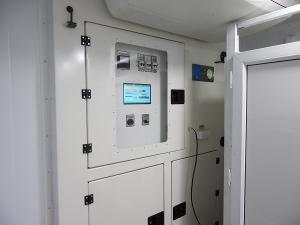 Блок управления санитарным контейнером