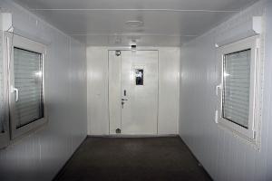 Кузов-контейнер постоянного объема вид изнутри