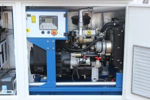 Электрогенератор установленный в кузов-контейнере