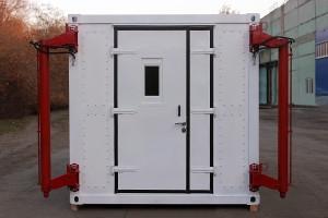 Входная дверь контейнера постоянного объема