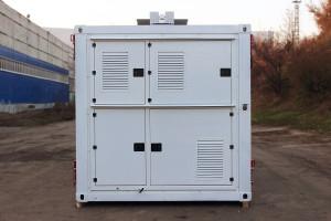 Кузов-контейнер постоянного объема вид сзади