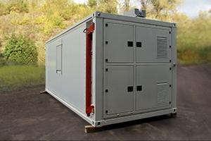 Многоцелевой кузов-контейнер вид сзади