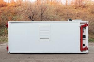 Кузов-контейнер постоянного объема вид сбоку