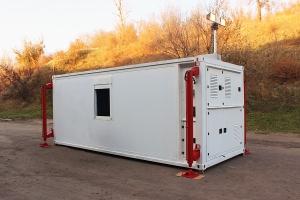 Световая мачта кузов-контейнера постоянного объема