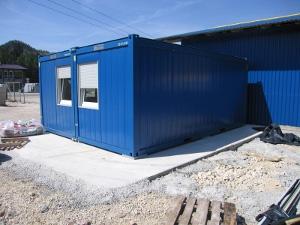 Мобильное здание из блок-контейнеров