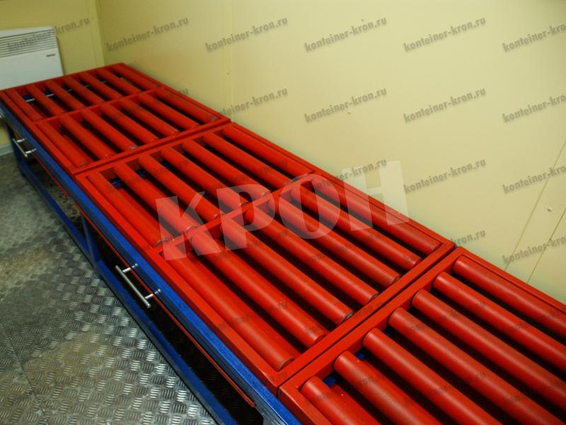 Мобильная аккумуляторная мастерская подставка под аккумуляторы