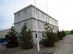 Мобильные офисные здания и рабочие помещения из блок-контейнеров